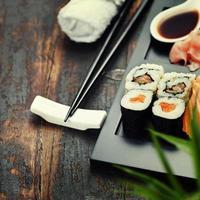 ensemble de sushi