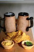 nachos de bière