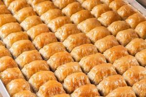 dessert turc: baklava