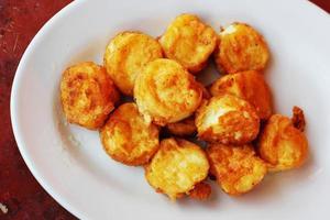 Tofu frit. photo