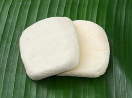 cubes de tofu frais photo