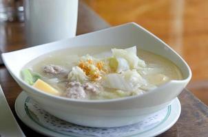 soupe claire