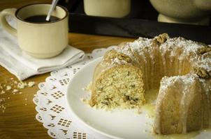 gâteau aux pommes d'Eliza (voir recette ci-dessous). photo