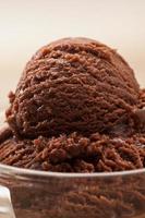 crème glacée au chocolat photo