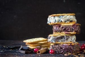 sandwichs à la crème glacée photo