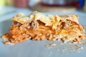 lasagne maison photo