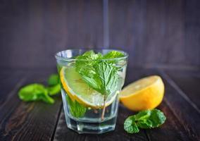 boisson au citron photo