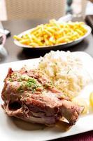 jarret de porc allemand
