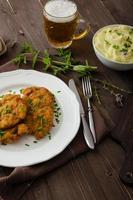 schnitzel aux herbes, photo