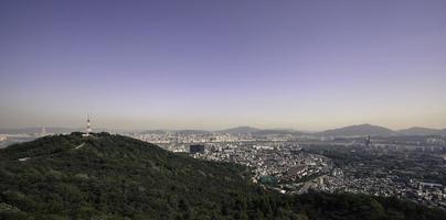 paysage urbain de Séoul