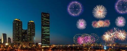 festival de séoul fieworks