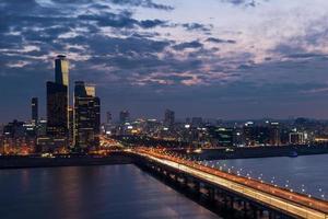 Séoul au crépuscule photo