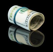 billets d'un dollar américain photo