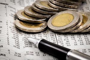 rapport financier avec pièces photo