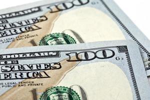 argent américain, billets de cent dollars