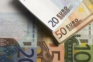 bon marché-argent-euro-monnaie européenne photo