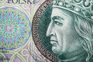 papier-monnaie polonais ou billets de banque photo