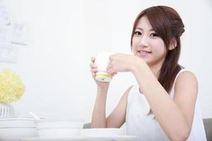 jeune asiatique photo
