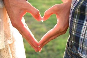 mains de coeur