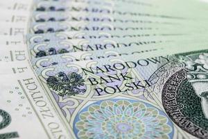 billet de banque 100 pln - zloty polonais photo