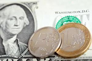 concept de marché de change de devises photo