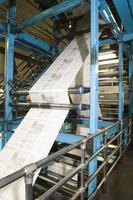 processus de production de journaux