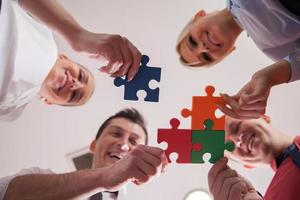 puzzle d'affaires