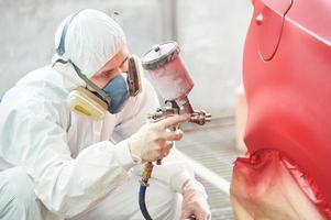 technologie de peinture de voiture