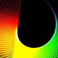 fond de technologie en spirale photo