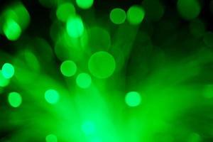 fond de technologie floue abstraite de fibres optiques photo