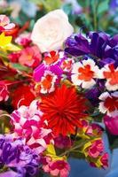 fleurs en origami photo