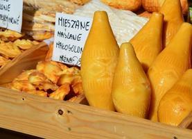 fromage polonais oscypek photo