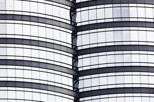 fond texturé du bâtiment en verre moderne photo