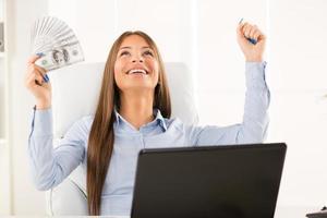 femme d'affaires réussie photo