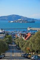 île d'Alcatraz et san francisco