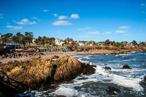 Plage de San Francisco, Piriapolis sur la côte de l'Uruguay photo