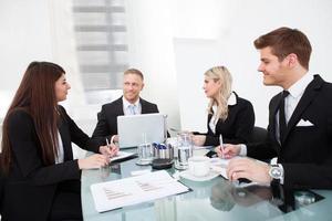 réunion d'affaires photo