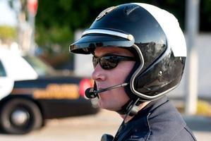 officier automobile photo