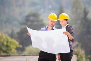 architecte en chef de construction photo