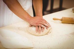 boulanger, pétrir, pâte, compteur photo