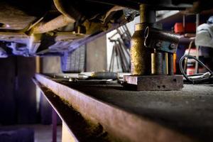 atelier de réparation automobile photo
