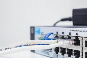 connexion par câble du récepteur photo