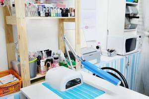 bureau de cosmétologie photo
