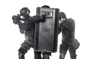 officiers de police swat