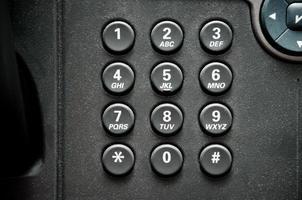 téléphone de bureau photo