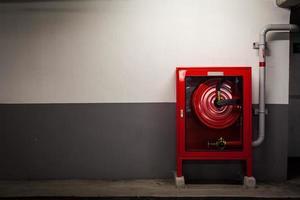 feu de cabinet pour le feu. photo