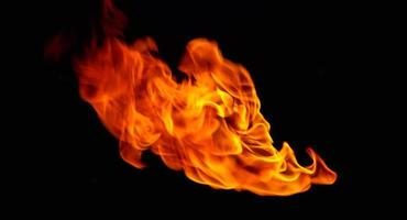 boule de feu. photo