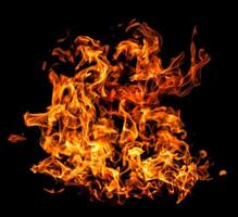 flamme de feu photo