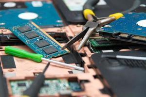 réparation d'ordinateur portable professionnel photo