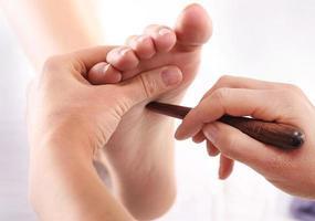 réflexologie des pieds photo